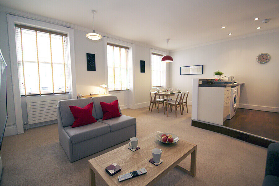 Gower Street Two Bedroom Apartment