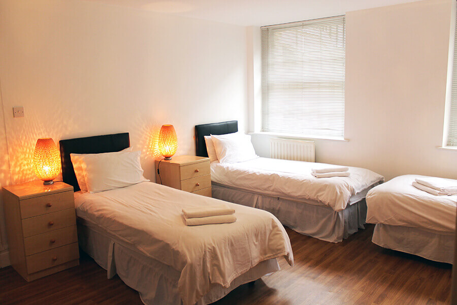 Book Two Bedroom Apartments For Six Persons In London Bloomsbury Apartments