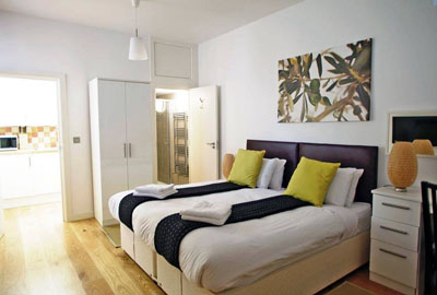 Apartments for one or two in Bloomsbury, London