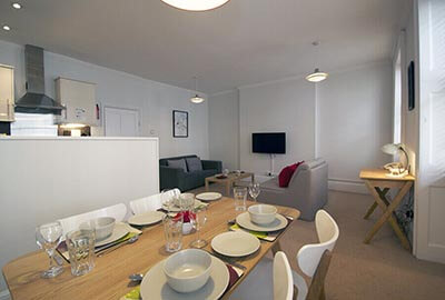 Apartments for three or four in Bloomsbury, London