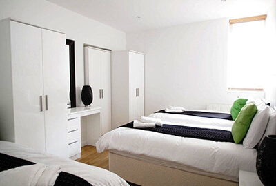 Apartments for five or six in Bloomsbury, London